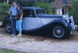 Kevin and Sandra Gibsons 1947 3.5 litre