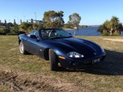 Daryll and Jenifers 1999 XKR convertible