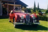 David and Robyn Hughes XK140 DHC